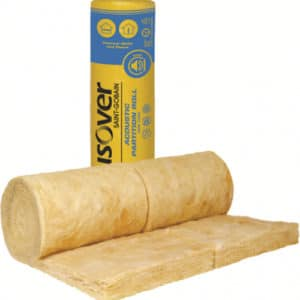 isover rd party wall roll 100mm 5.46m2 Free Postage 5 roll deal