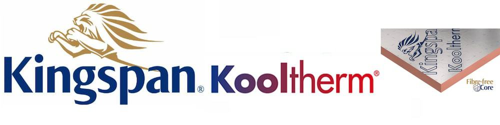 Kingspan kooltherm insulation all ranges