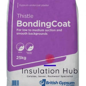 British Gypsum Bonding Coat Plaster 25kg