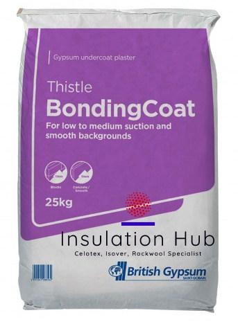 British Gypsum Bonding Coat Plaster 25kg
