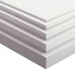 Polystyrene EPS 70 - 25mm, 50mm, 75mm, 100mm, 2.4m x 1.2m Sheet, Cheap Polystyrene